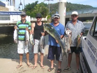 Sunshine coast fishing Tuna and Dolphin Fish