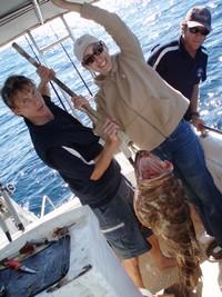 Sunshine Coast Fishing Charter Cod