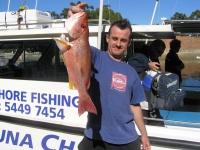Noosa fishing Moses Perch