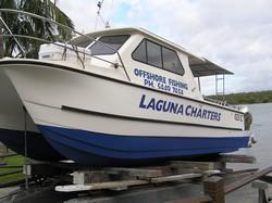 Sunshine Coast Fishing Charter boat Laguna Cat